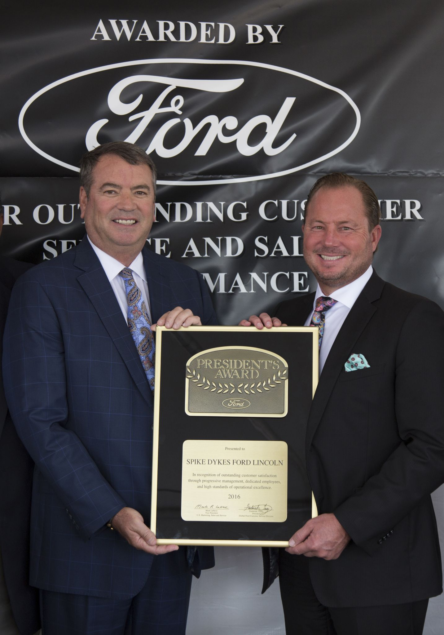 Reagor Dykes Lubbock >> Reagor Dykes Recognized With President S Award Plainview