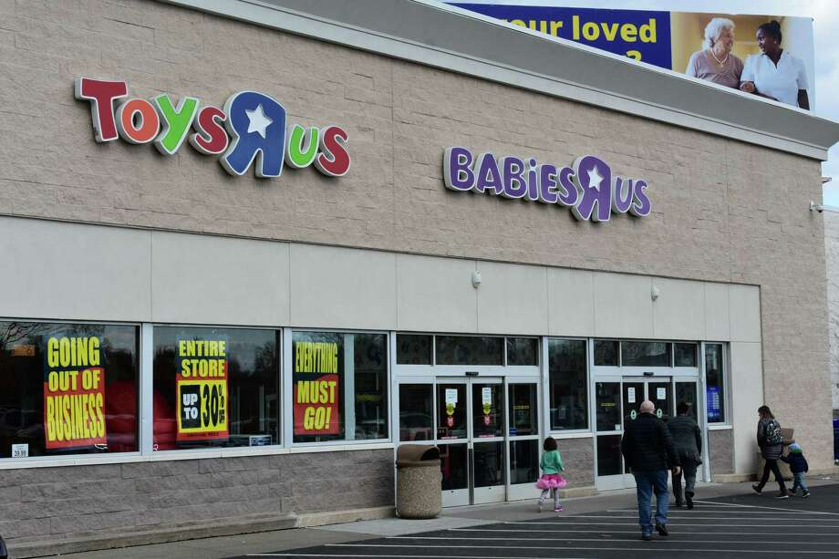 59 Connecticut Ave.: If it's the end of a retail era, at least it comes at up to 30 percent off: Toys R Us commenced going-out-of-business sales in Connecticut, including at a Norwalk store the company built in 1994 at 59 Connecticut Ave. The clearance sales are going forward even as Wayne, N.J.-based Toys R Us holds out the possibility of selling about 200 of its best-performing stores to the highest bidder. Photo: Alexander Soule / Hearst Connecticut Media / Stamford Advocate