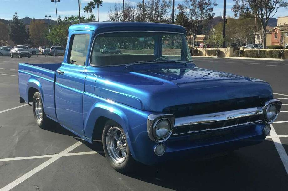 Dan Leighty found his 1957 Ford F-100 in Hesperia, California. While the style of the classic was what he wanted for the most part, he realized he wanted to upgrade some of the other elements of the truck to make it his own. Photo: Courtesy Of Dan Leighty