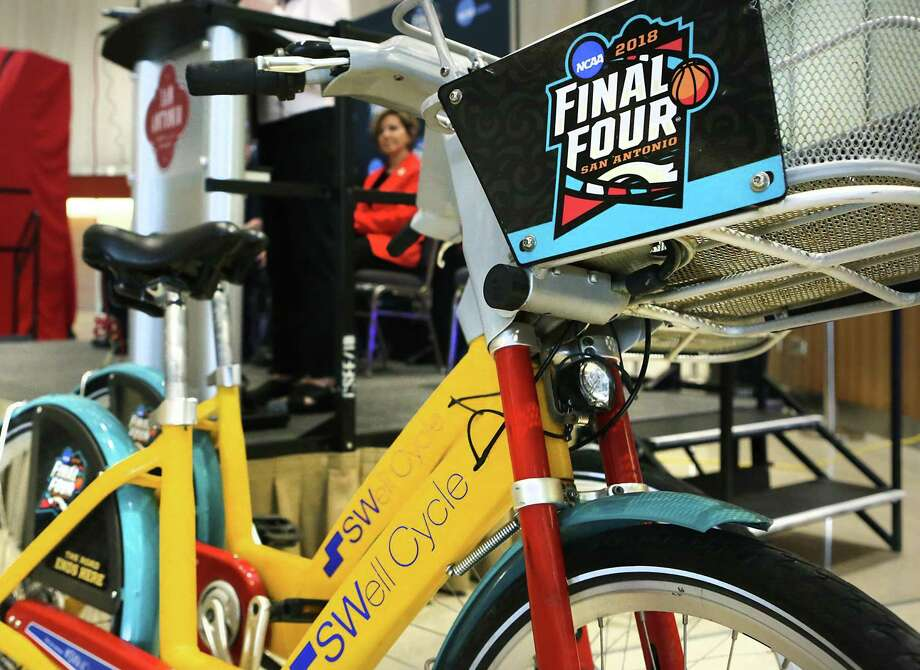 Free Swell Cycle RidesSwell Cycle, formerly known as BCycle, is celebrating Final Four with free rides on Friday.  Photo: Bob Owen /San Antonio Express-News / ©2018 San Antonio Express-News