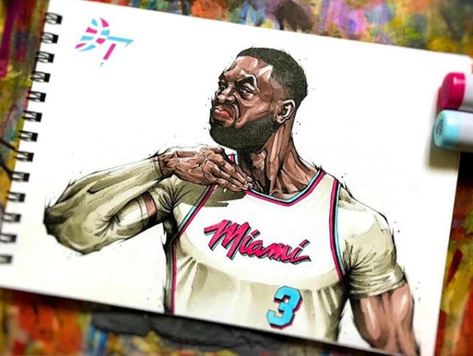Drawing Of Nba Stars: Check Out These Insane Drawings Of NBA Players