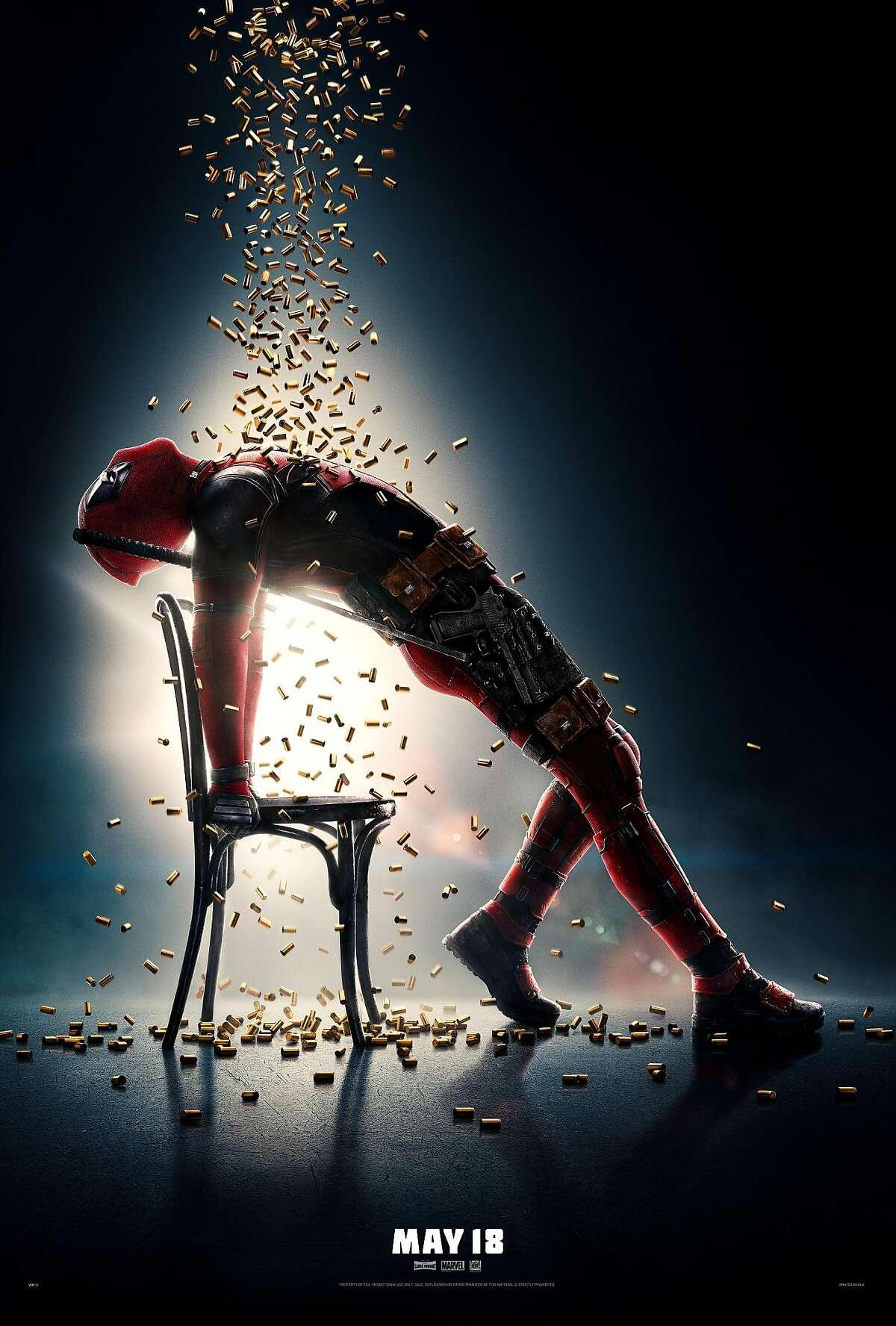"""A teaser poster for """"Deadpool 2"""""""