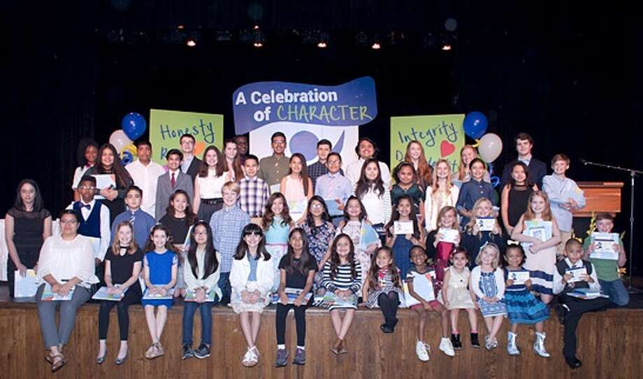 Forty-nine Spring Branch ISD students enrolled in prekindergarten through 12th grade were recently honored as Character Without Question Award recipients during a recent public ceremony for the students and their families held at Northbrook High School. Photo: Spring Branch ISD