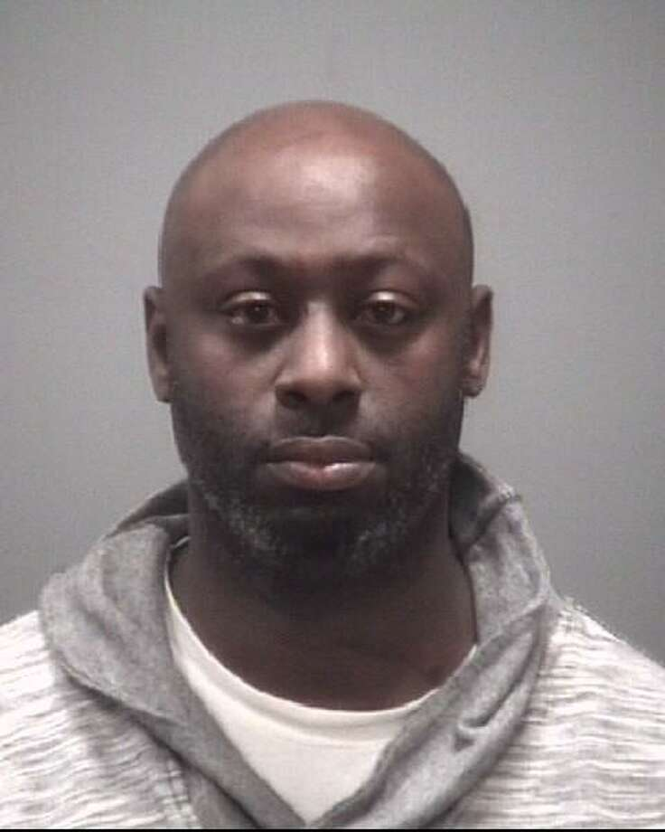 Edward Willie Cobb, 37, of New Haven, was arrested Sunday for allegedly pointing a shotgun at two people. Photo: Photo Courtesy Of New Haven Police