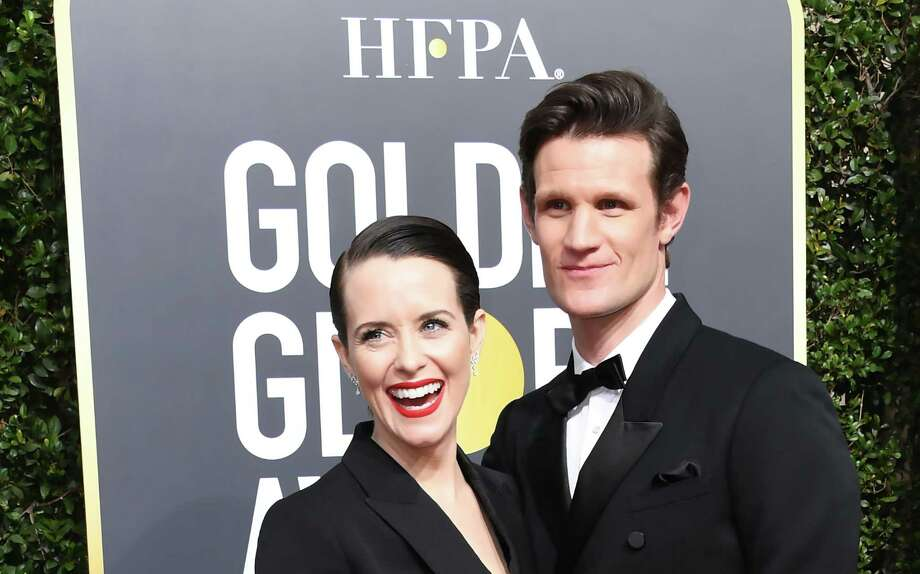 Claire Foy and Matt Smithat the 75th Golden Globe Awards Photo: VALERIE MACON, Contributor / AFP/Getty Images / AFP or licensors
