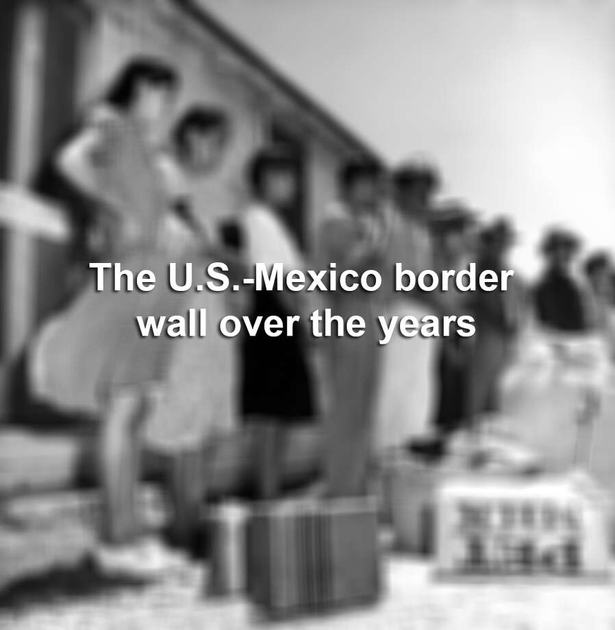 Photos show what the U.S.-Mexico border has looked like over the years. Photo: Laredo Morning Times