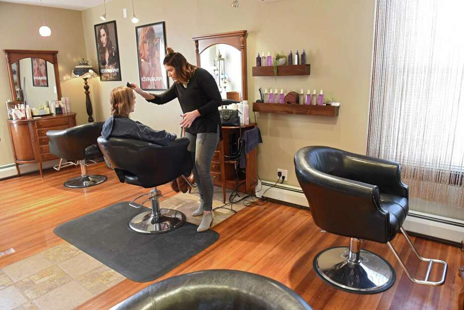 Interior of Pixie's Salon at 1274 Central Ave. on Monday, Feb. 12, 2018 in Colonie, N.Y. (Lori Van Buren/Times Union) Photo: Lori Van Buren / 20042898A