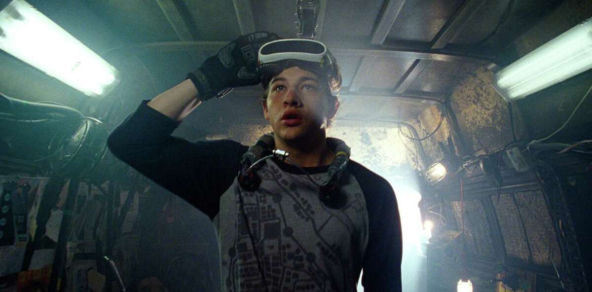 """Steven Spielberg's sci-fi spectacular """"Ready Player One"""" opens on Friday."""