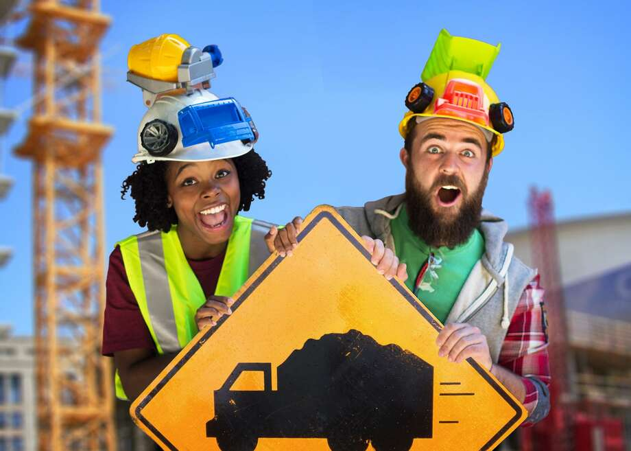 """""""Goodnight, Goodnight, Construction Site: The Musical"""" stops at the Palace Theatre in Stamford on April 5. Photo: Bay Area Children's Theatre Of California / Contributed Photo"""