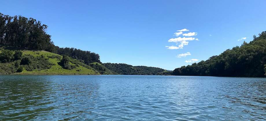 Lake Chabot is 93 percent full, temperatures are forecast to rise into the 70s as spring takes hold for boating, fishing, hiking and biking Photo: Tom Stienstra, David Smith / Special To The Chronicle