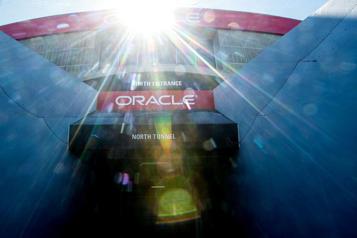 Oracle Arena is pictured at the Oakland Alameda County Coliseum on Monday, March 26, 2018, in Oakland.