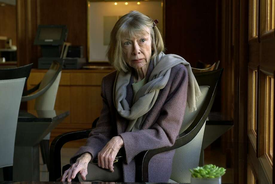 """Joan Didion's memoir, """"The Year of Magical Thinking,"""" is the basis for a stage adaptation of the same name in Aurora Theatre Company's new season. Didion is pictured in San Francisco in 2003. Photo: Chris Hardy / The Chronicle 2003"""