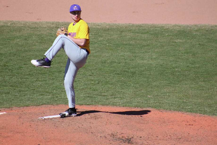 UAlbany's John Clayton, a redshirt freshman, has a 2.60 ERA in seven starts with the Great Danes this season.