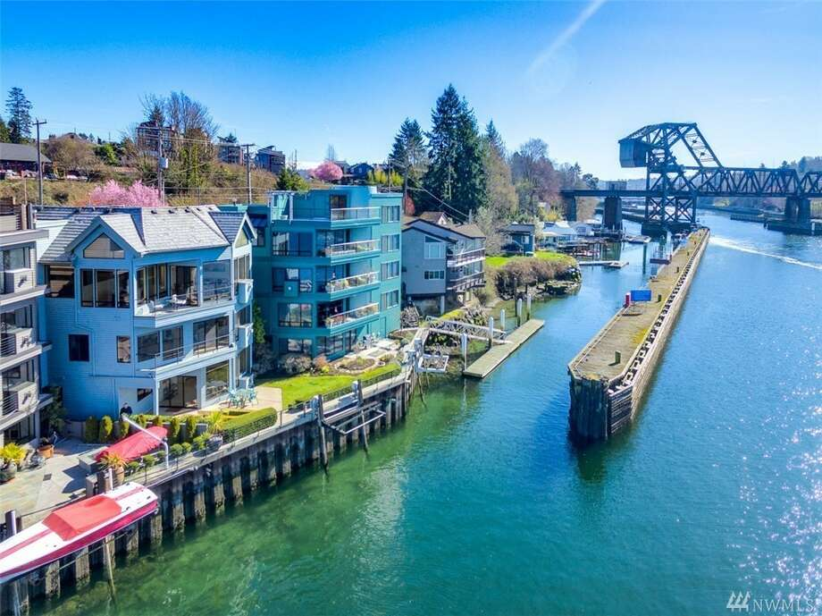 3 BR Ballard condo offers waterfront views from every room. Yours for $1.750M. Photo: Joyce Minor/ Enrico Pozzo • Realogics Sotheby's Int'l Rlty