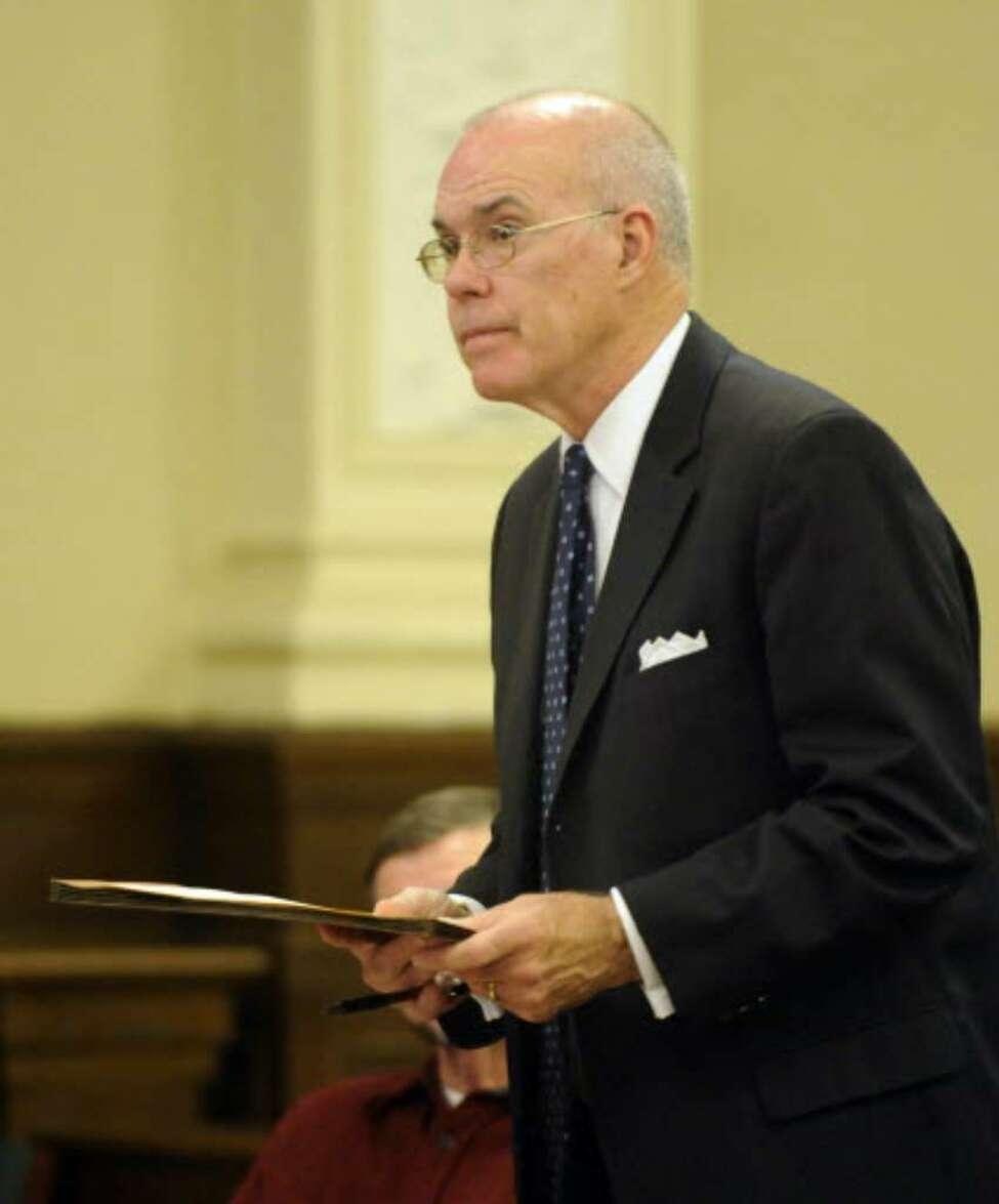 Former Supreme Court Judge Thomas Spargo. (File photo)