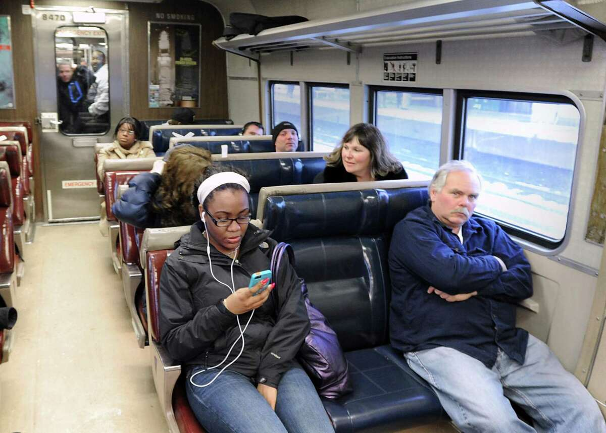 Finding the right seat can be difficult on crowded Metro-North trains.