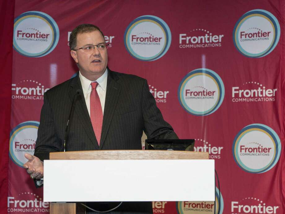 Frontier Communications CEO Daniel McCarthy in October 2016 in Fairfield, Conn. Photo: Mark Conrad / For Hearst Connecticut Media / ©Mark F Conrad