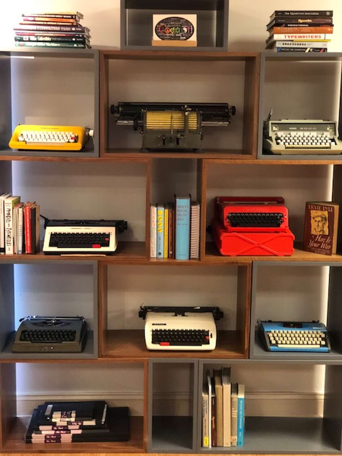 Backspace Westport had its soft opening on Feb. 2. A grand opening event is set for June 23, also known as National Typewriter Day.