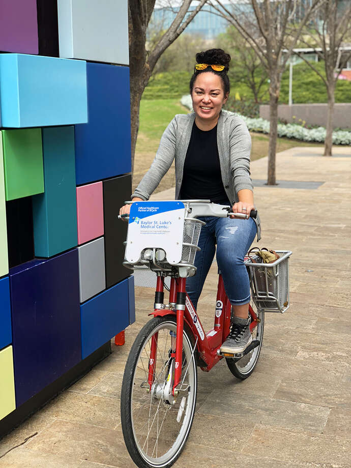 Houston Bike Share team has named Beth Martin as its new executive director. Photo: Courtesy Photo