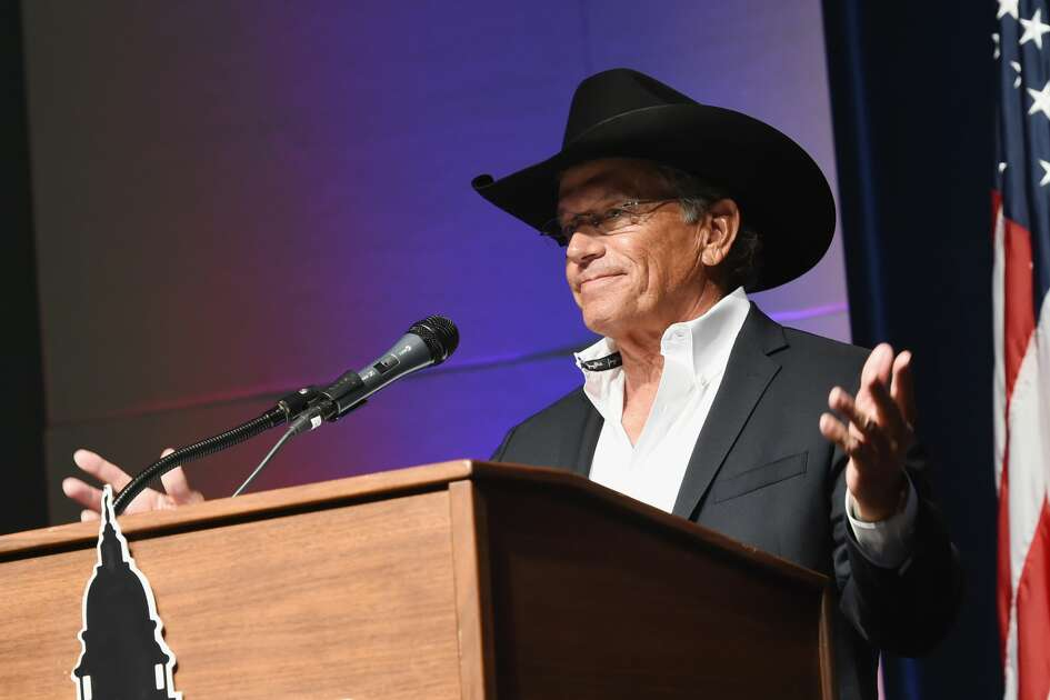 George Strait Honored as Texan of the Year at New Braunfels' Chamber of Commerce on March 23, 2018 in New Braunfels, Texas.