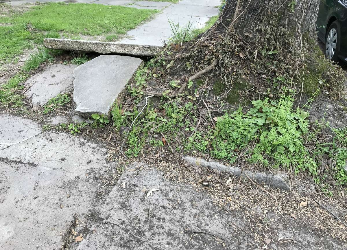 Houston's sidewalks are in notoriously bad shape.