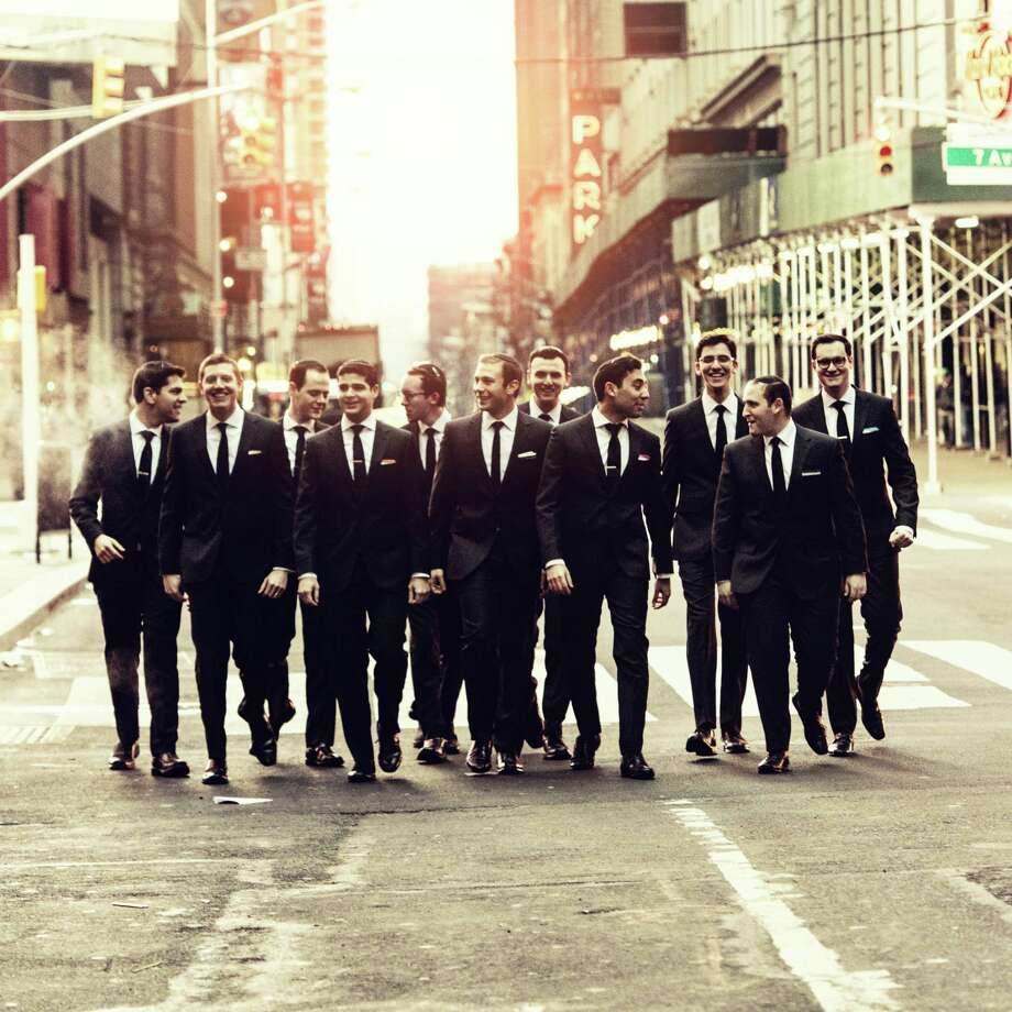 In celebration of Israel's 70th anniversary, the New York-based Maccabeats will perform April 8 in Danbury. Photo: Dani Diamond / Contributed Photo