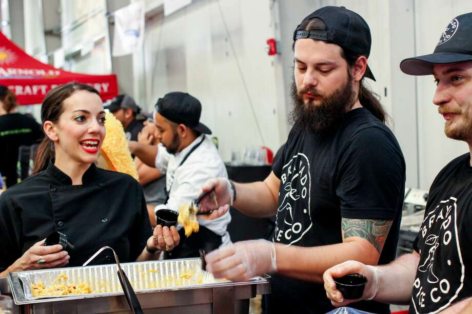 The second annual Houston Mac and Cheese Fest, slated for Saturday, April 7 is poised to give attendees everything they loved about the first edition in 2017 and much, much more. One of the festival's organizers, Colin Schickedanz, tells Chron.com that last year totally blew away expectations for the first year out of the gate. Photo: Abrahan Garza