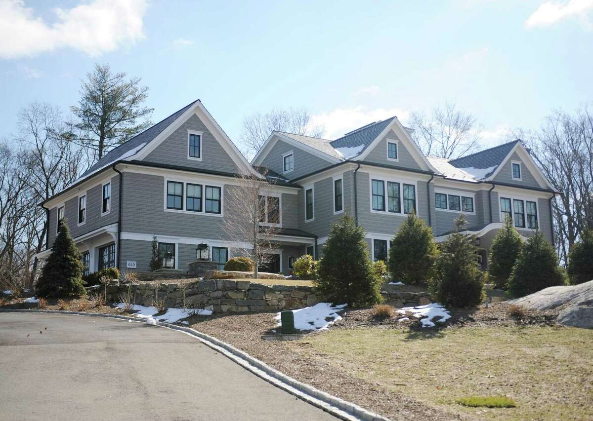 A recently-sold home on River Road in the Cos Cob section of Greenwich, Conn., photographed on Wednesday, March 14, 2018.
