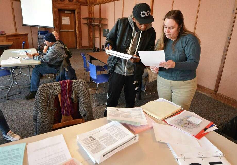 Norwalk Community College is offering free tax preparation help through April 17 courtesy of the Internal Revenue Service's Volunteer Income Tax Assistance (VITA) program. Photo: Alex Von Kleydorff / Hearst Connecticut Media / Connecticut Post