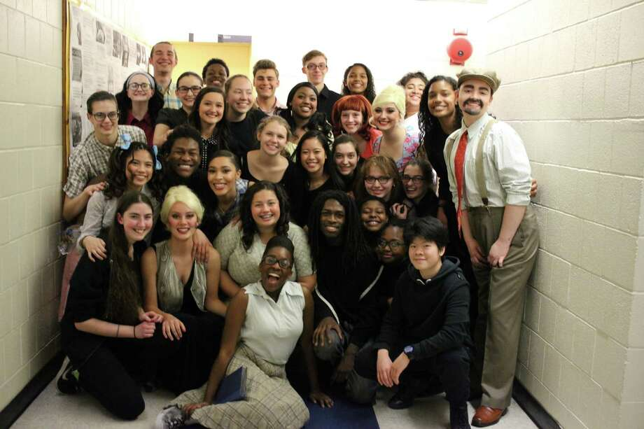 """Click through the slideshow to see what's going on behind the scenes and on stage at area high school musicals. Albany High School's production of """"Hairspray"""""""