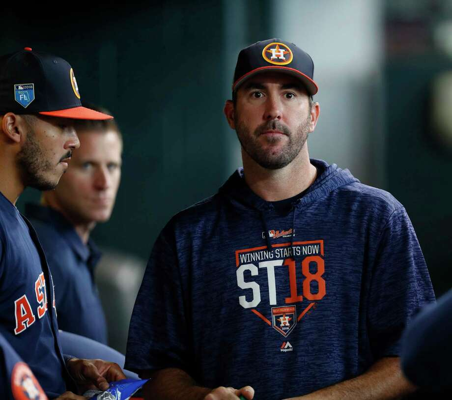9e83f4ea3 PHOTOS  A look at every Opening Day starting pitcher in Astros  historyJustin Verlander will be