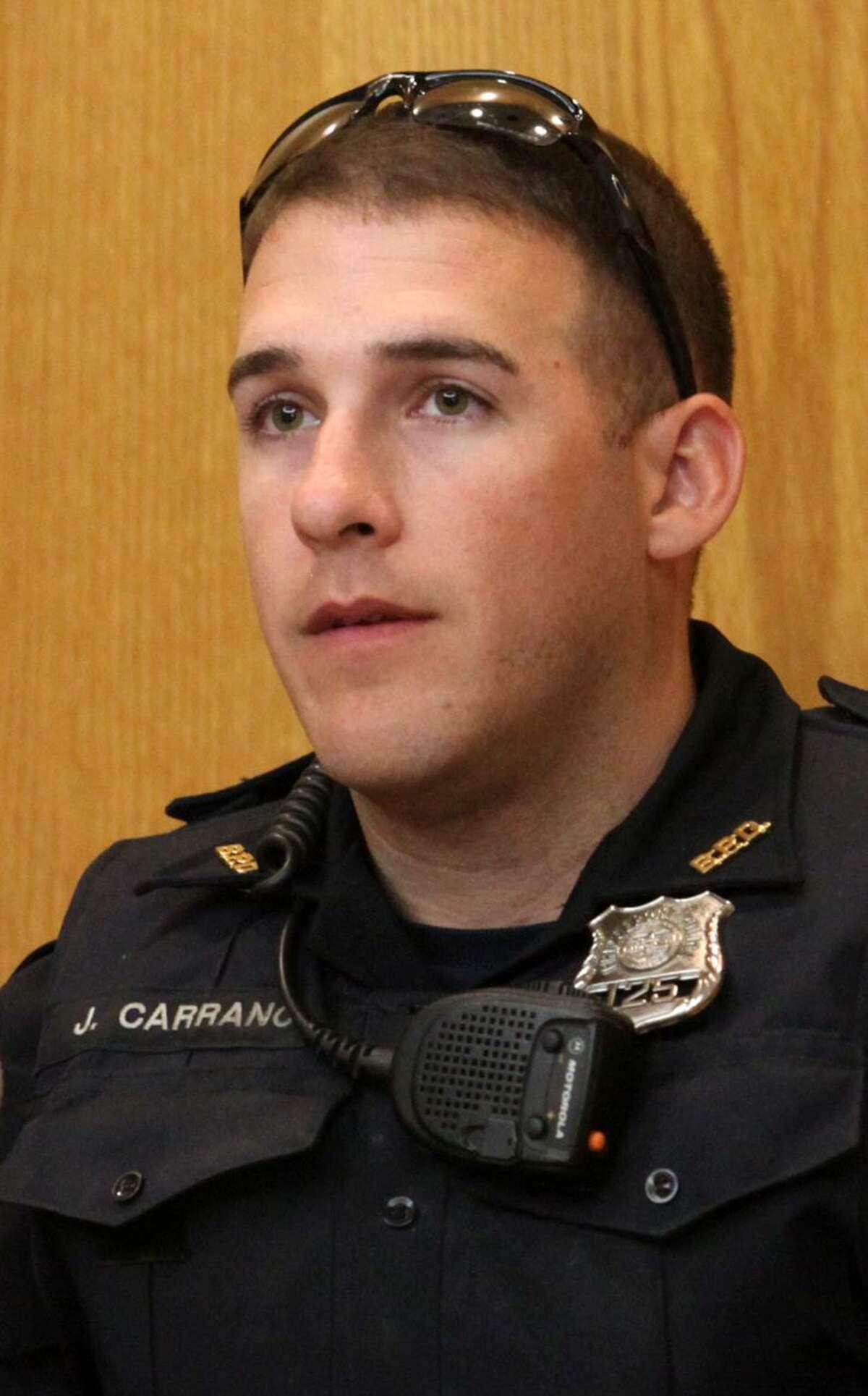 Bridgeport police officer John Carrano