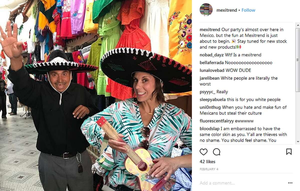 An Instagram-fueled outrage has been started by posts like these on the Mexitrend account.