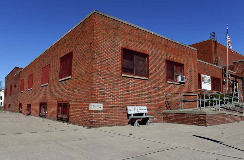 Exterior of the Lansingburgh Boys and Girls and Boys Club on Monday, March 26, 2018, in the Lansingburgh neighborhood of Troy, N.Y. (Will Waldron/Times Union)