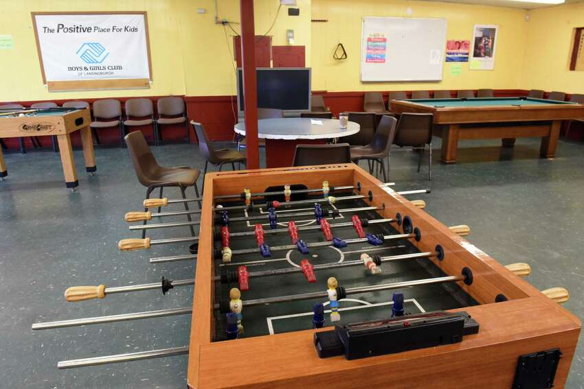 Inside the games room at the Lansingburgh Boys and Girls and Boys Club on Monday, March 26, 2018, in the Lansingburgh neighborhood of Troy, N.Y. (Will Waldron/Times Union)