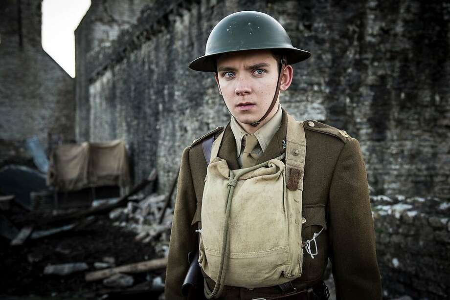"Asa Butterfield is a soldier in ""Journey's End."" Photo: Good Deed Entertainment /"