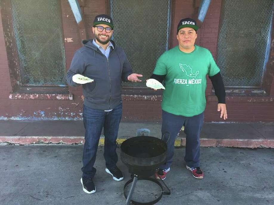 """ITVS has greenlit a new digital series, """"The Tacos of Texas,"""" that will stream exclusively on Indie Lens Storycast, a YouTube channel launched in partnership with PBS Digital Studios. Mando Rayo and Jarod Neece, the team behind the books, """"The Tacos of Texas"""" and """"Austin Breakfast Tacos: The Story of the Most Important Taco of the Day,"""" set off to explore iconic tacos in cities throughout the Lone Star State in this seven-episode documentary series. Photo: Tacos Of Texas/Robert Gomez"""