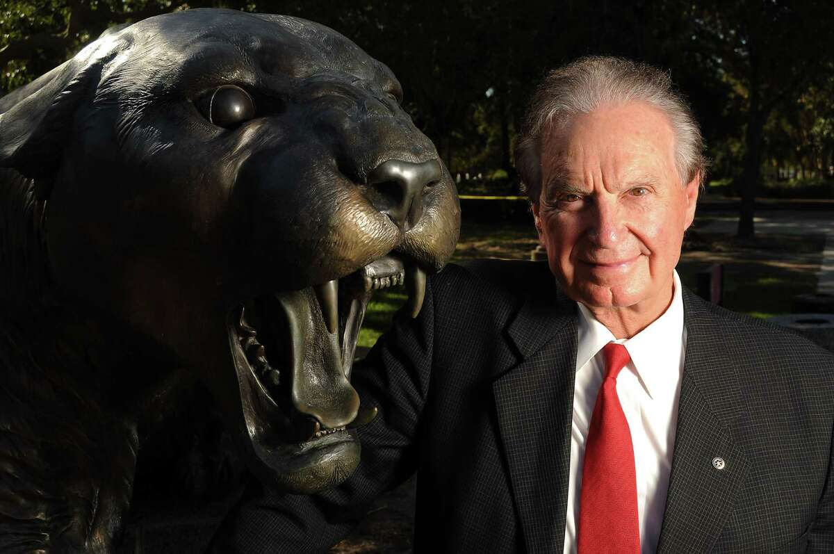 Welcome Wilson Sr. on the University of Houston Campus Monday Oct. 11, 2010. (Dave Rossman/For the Chronicle)