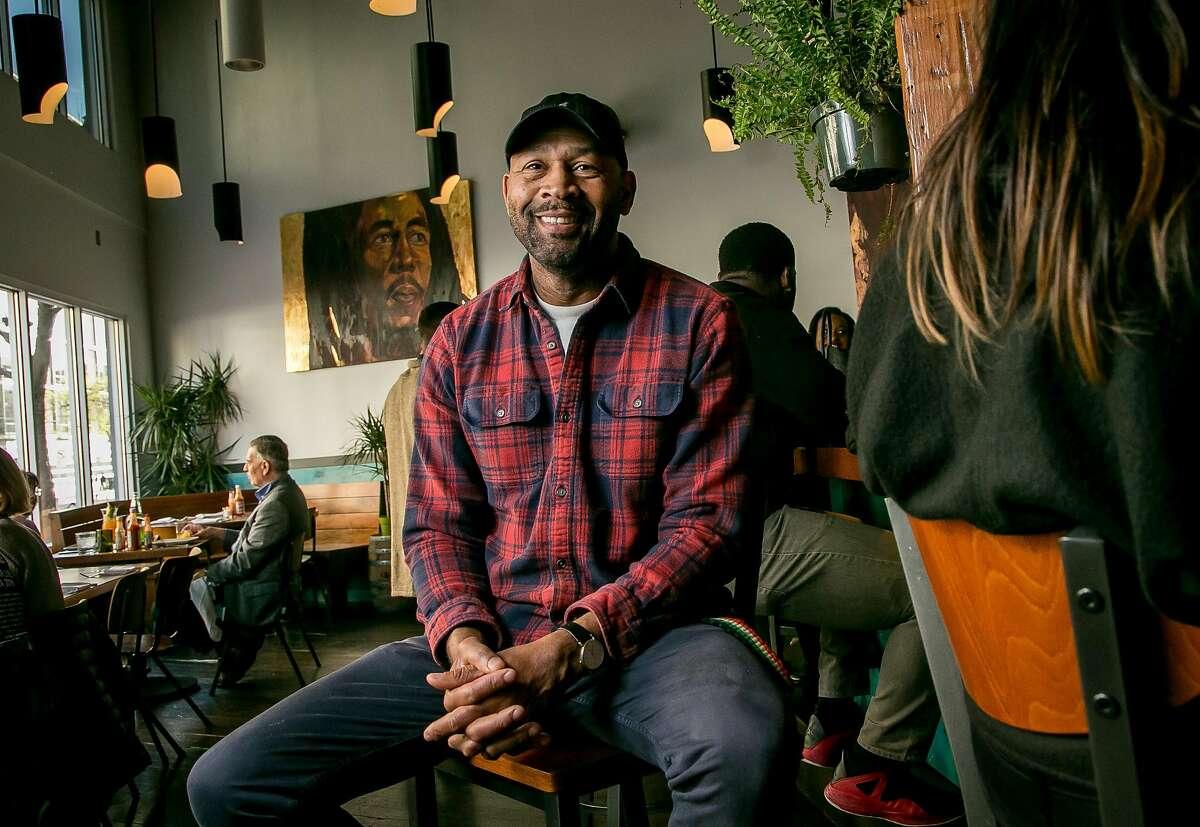 Chef Nigel Jones of Kaya in San Francisco, Calif. is seen on March 24th, 2018.