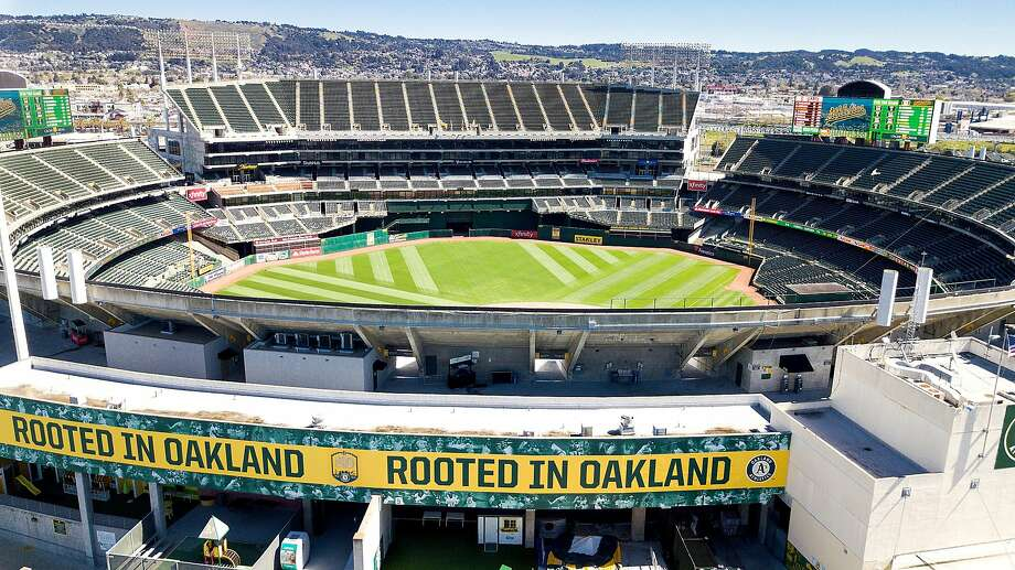 This season, the A's have moved their advertising in-house, and the TV spots are no more, but Hub is celebrating its long relationship with the club with a highlight reel that includes snippets from several of the 70-plus ads the company produced. Photo: Noah Berger, Special To The Chronicle