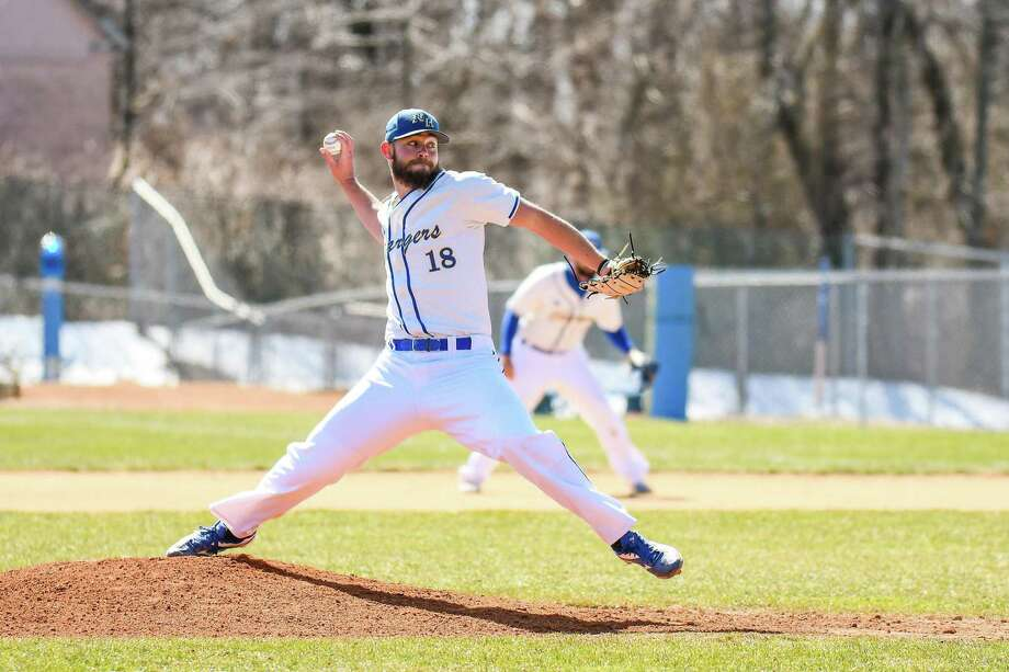 University of New Haven pitcher David Palmer. Photo: University Of New Haven Athletics / Contributed Photo / Stamford Advocate Contributed