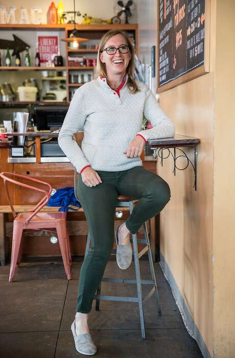 Homeroom restaurant owner Erin Wade, who has put in place a system that allows servers to alert management of harassing customers. Photo: Jessica Christian / The Chronicle