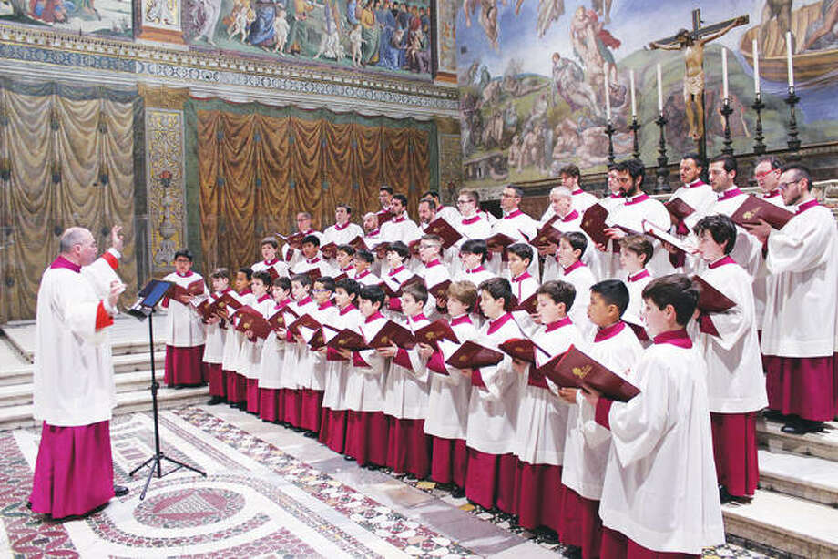 Serving as the Pope's personal choir, today, the world-renowned Pontifical Sistine Chapel Choir from Rome is comprised of a highly-accomplished group of 20 professional singers, chosen from all around the world. The treble section, known as the Pueri Cantores, is made up of 35 boys aged between 9 and 13, who are selected through rigorous auditions. Photo: For The Telegraph