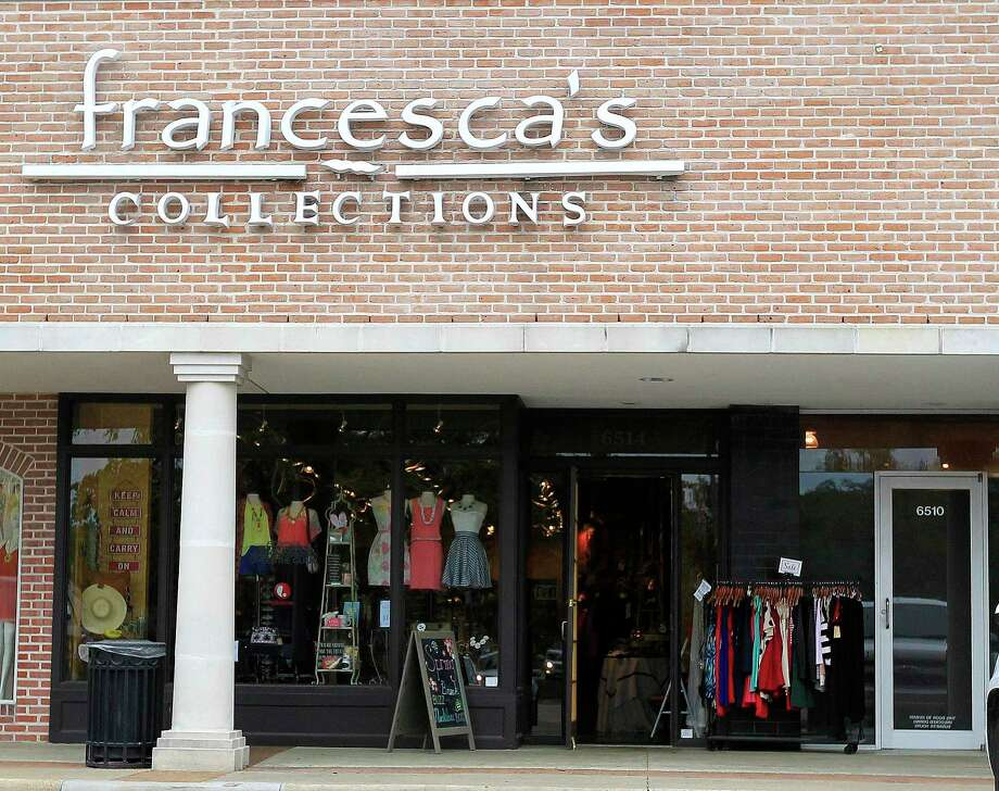 Exterior of Francesca's an apparel and accessories chain at 6514 Woodway Drive, Wednesday, March 26, 2014, in Houston.  ( Karen Warren / Houston Chronicle  ) Photo: Karen Warren, Staff / Houston Chronicle / © 2014 Houston Chronicle