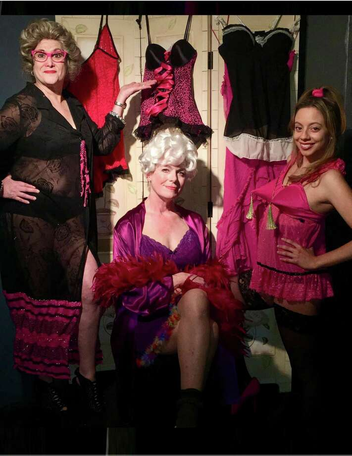 "From left, Lori Feldman, Karen Gagliardi and Ashley Ayala start in Connecticut Cabaret Theatre's production of ""Nana's Naughty Knickers,"" opening April 6 in Berlin. Photo: Contributed Photo /Connecticut Cabaret Theatre"