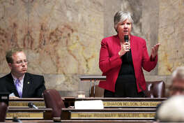 State Senate Majority Leader Sharon Nelson, D-Vashon Island, is bowing out of the Washington Legislature.