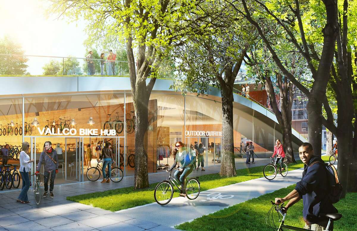Renderings of what Vallco Town Center will look like.