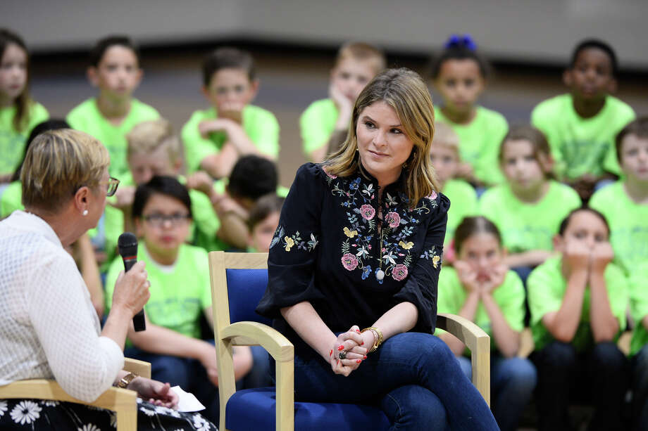 Jenna Bush Hager visited the Trinity School to show support for the students and their charitable programs, March 27, 2018. James Durbin/Reporter-Telegram Photo: James Durbin/Reporter-Telegram