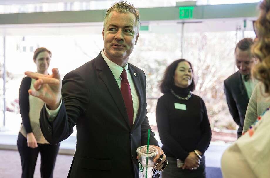 Travis Allen, Republican Photo: Jessica Christian / The Chronicle