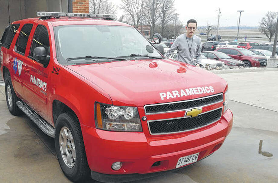 The Chevy Tahoe advanced life support vehicle that Passavant Area Hospital is donating to the Jacksonville Fire Department comes with all of the equipment necessary to be licensed.